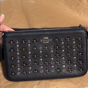 Coach mini bag with chain handle
